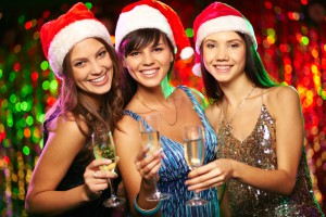 Christmas party girls staff do survival tips